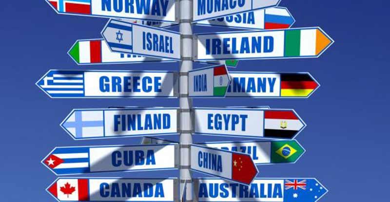 Condition de voyage : tout dépend des pays de destination